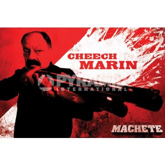 poster Necam - Machete (Cheech) - PYRAMID POSTERS, PYRAMID POSTERS