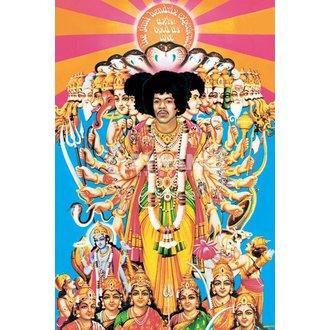 poster Jimi Hendrix (Axă Îndrăzneţ La fel de Dragoste) - PYRAMID POSTERS, PYRAMID POSTERS, Jimi Hendrix