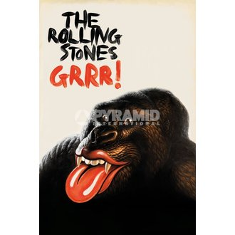 poster Rulare Stons - GRR!' - Pyramid Posters, PYRAMID POSTERS, Rolling Stones