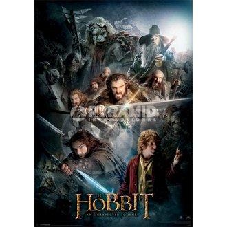 obraz 3D The hobbit Întuneric Montaj - Pyramid Posters, PYRAMID POSTERS