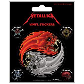 Abțibilduri Metallica - PYRAMID POSTERS, PYRAMID POSTERS, Metallica