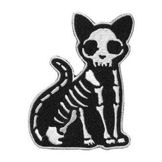 Petic ușor de călcat KILLSTAR - Purr Bones - NEGRU, KILLSTAR