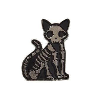Insignă KILLSTAR - Purr Bones - BLACK, KILLSTAR