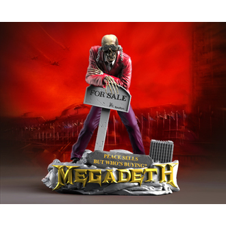 Statuie/ Figurină (Decorațiune) Megadeth - KNUCKLEBONZ - Pace Sells - VIC Rattlehead 2, KNUCKLEBONZ, Megadeth