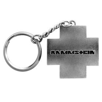 Breloc chei RAMMSTEIN - Logo Schlüsselanhänger, RAMMSTEIN, Rammstein