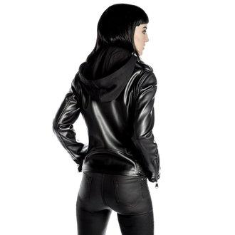geacă de piele femei - Ruth Less Veganomicon Biker - KILLSTAR, KILLSTAR