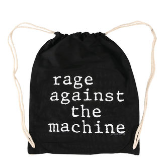 Geantă Rage Against the Machine - Stack Logo - Black Drawstring, Rage against the machine