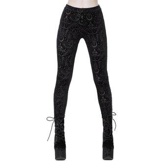 Pantaloni damă (colanți) KILLSTAR - Saiph - BLACK, KILLSTAR