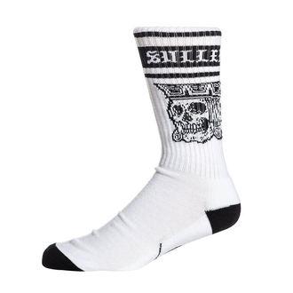 Șosete înalte SULLEN - JACKED - WHITE / BLACK, SULLEN