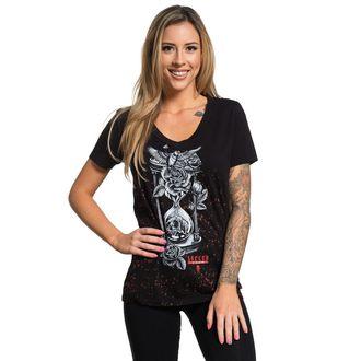 tricou hardcore femei - HOUR GLASS - SULLEN, SULLEN
