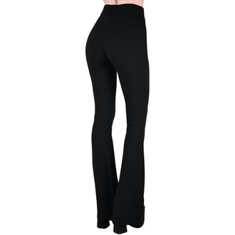Pantaloni damă KILLSTAR - Slo-Burn Bell - BLACK, KILLSTAR