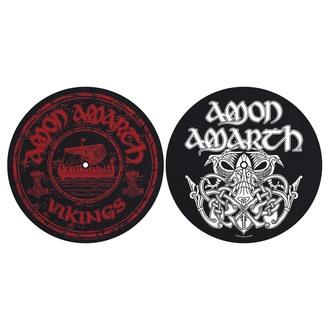 Plăcuțe gramofon (set 2 bucăți) Amon Amarth - Vikings - RAZAMATAZ, RAZAMATAZ, Amon Amarth