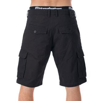 Pantaloni scurți bărbătești HORSEFEATHERS - BRILL - Black, HORSEFEATHERS