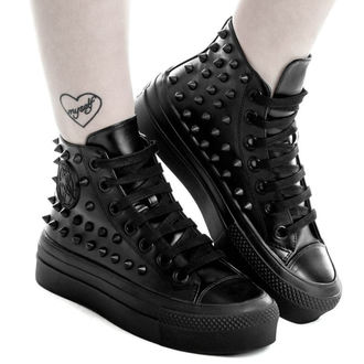 cizme cu platformă unisex - SOULED OUT HIGH TOPS - KILLSTAR, KILLSTAR