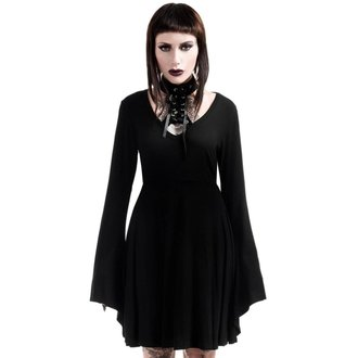 Rochie femei KILLSTAR - Spyda Lace-Me-Up - Black, KILLSTAR