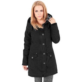 sacou de iarnă femei - Garment washed Long Parka - URBAN CLASSICS, URBAN CLASSICS