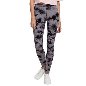 Pantaloni damă (colanți) URBAN CLASSICS - Biker Batik - grey / black, URBAN CLASSICS