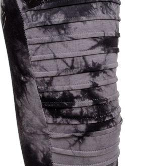 Pantaloni damă (colanți) URBAN CLASSICS - Biker Batik - grey / black - TB1937