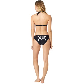 Bikini damă FOX - Throttle Maniac - Halter - Black, FOX