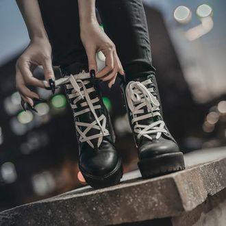 cizme cu platformă femei - KILLSTAR