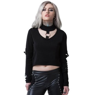 Pulover damă KILLSTAR - TOURNIQUET - BLACK, KILLSTAR