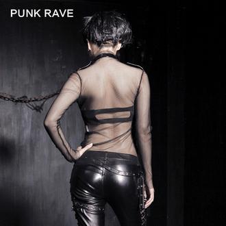 tricou stil gotic și punk femei - MeshMerizer - PUNK RAVE, PUNK RAVE