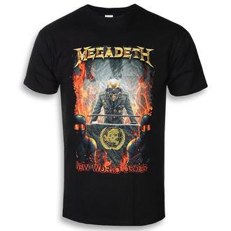 tricou stil metal bărbați Megadeth - NEW WORLD ORDER - PLASTIC HEAD, PLASTIC HEAD, Megadeth