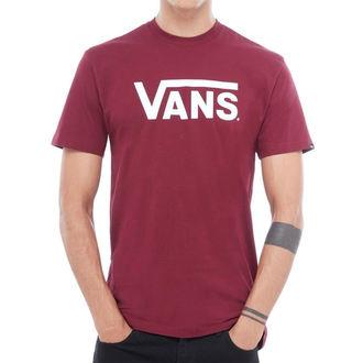Tricou bărbătesc VANS - MN VANS CLASSIC - Burgundy / White, VANS