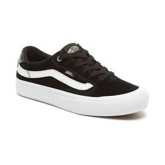 adidași scurți bărbați - MN Style 112 Pro black/black/w - VANS