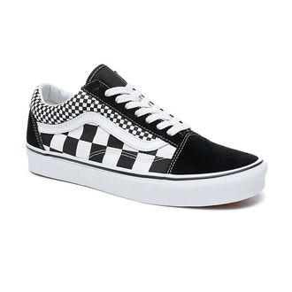 adidași scurți unisex - UA OLD SKOOL (MIX CHECKER) - VANS, VANS