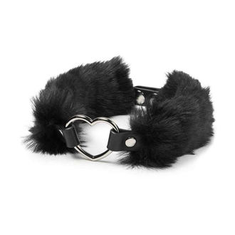 Lesă KILLSTAR - Venus Fur Choker - Black, KILLSTAR