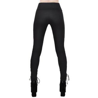 Pantaloni damă (colanți)  KILLSTAR - Viper Lace-Up, KILLSTAR