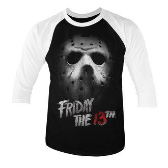 tricou cu tematică de film bărbați Friday 13th - White - HYBRIS, HYBRIS