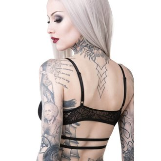 Sutien damă KILLSTAR - WEEPING WIDOW - BLACK, KILLSTAR