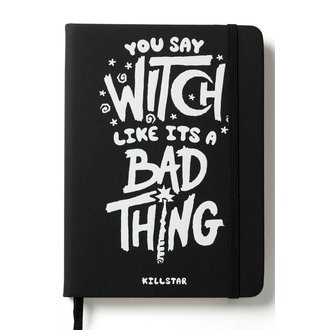 Agendă KILLSTAR - WHO'S BAD JOURNAL - BLACK, KILLSTAR