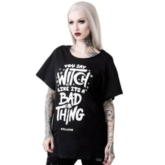 tricou femei - WHO'S BAD RELAXED - KILLSTAR, KILLSTAR