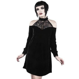 Rochie damă KILLSTAR - WICKED WEBUTANT SKATER - BLACK