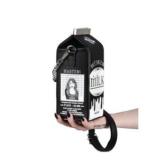 Geantă de mână (poșetă) KILLSTAR - WICKED MILK - BLACK, KILLSTAR