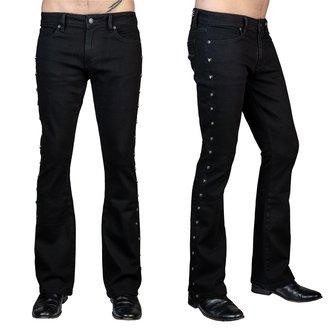 Pantaloni bărbătești (blugi) WORNSTAR - Gauntlet Skull - Black, WORNSTAR