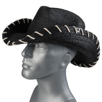 Pălărie WORNSTAR - Hellrider HS Black Rocker Cowboy, WORNSTAR