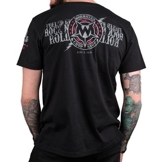 tricou hardcore bărbați - Electric - WORNSTAR, WORNSTAR