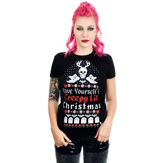 Tricou damă TOO FAST - HAVE YOURSELF A CREEPY LIL CHRISTMAS BABYDOLL, TOO FAST