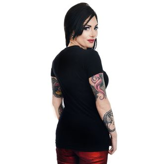 tricou stil gotic și punk femei - GRAVE ROBBER ZOMBIE XMAS VS HALLOWEEN BABYDOLL CHR - TOO FAST, TOO FAST
