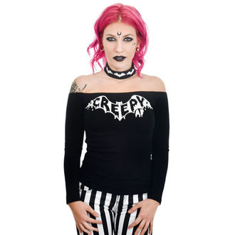 tricou stil gotic și punk femei - TABITHA CHOKER - TOO FAST, TOO FAST