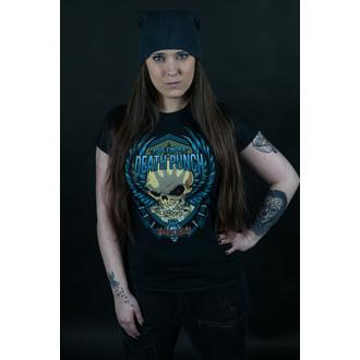 tricou stil metal femei Five Finger Death Punch - Trouble - ROCK OFF, ROCK OFF, Five Finger Death Punch