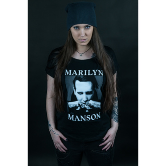 Tricou damă Marilyn Manson - Fists - ROCK OFF, ROCK OFF, Marilyn Manson