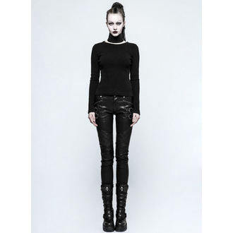 Pantaloni damă PUNK RAVE - K-297 Mantrap leather, PUNK RAVE
