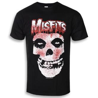 tricou stil metal bărbați Misfits - Blood Drip Skull - ROCK OFF, ROCK OFF, Misfits