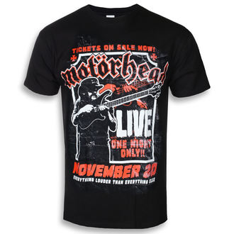 tricou stil metal bărbați Motörhead - Lemmy Firepower - ROCK OFF, ROCK OFF, Motörhead