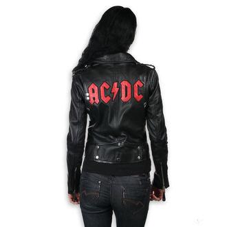 geacă de piele femei AC-DC - LNTC Black - NNM, NNM, AC-DC